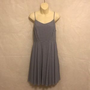 Old navy fit and flare dress size medium